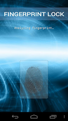 Fingerprint Lock 1.0. apk kunci sidik jari Android