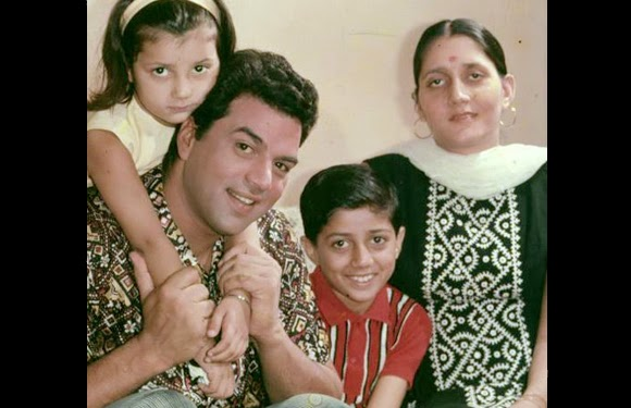 childhood rare photos of Sunny Deol