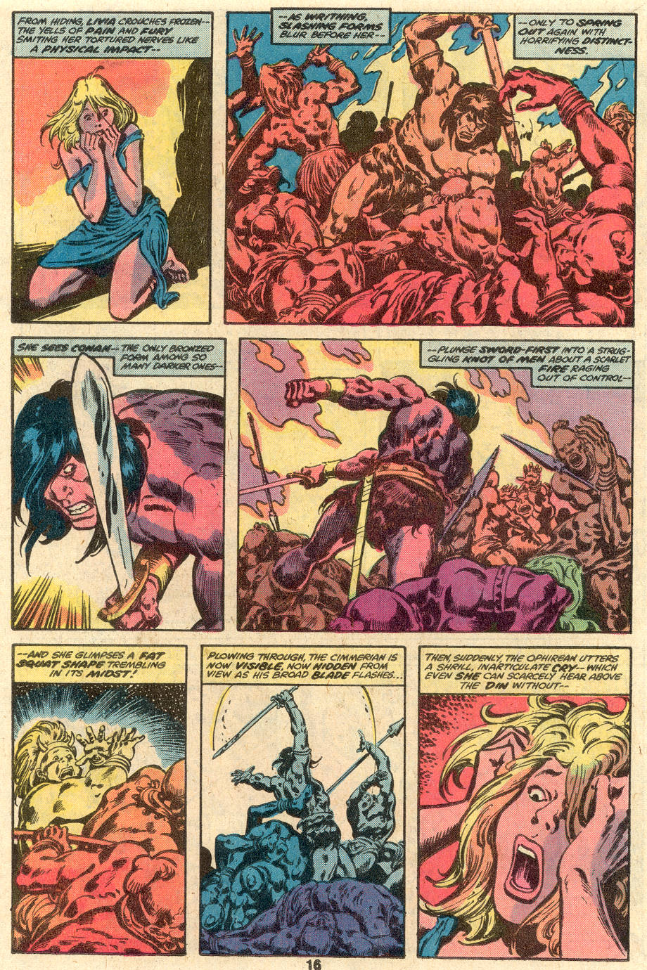 Conan the Barbarian (1970) Issue #104 #116 - English 11
