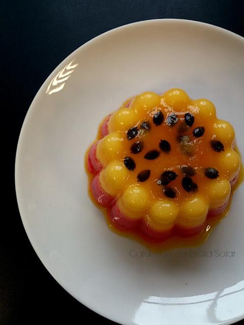 Gelatina tipo mousse (diet)
