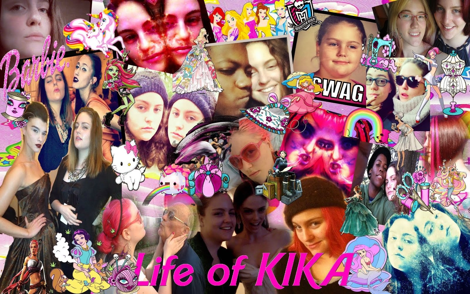 Life of Kika Collage