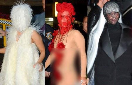 Kostum Aneh Lady Gaga