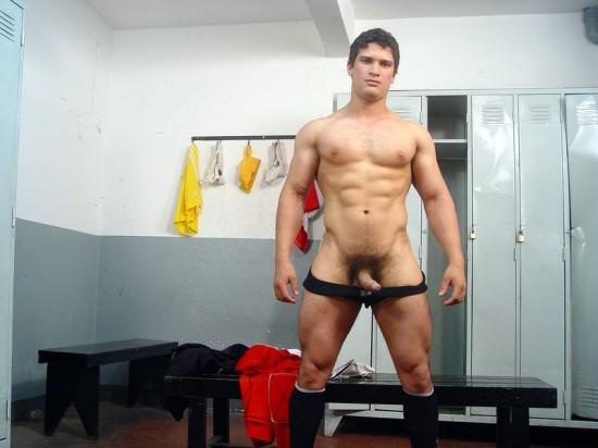 naked gay buff men