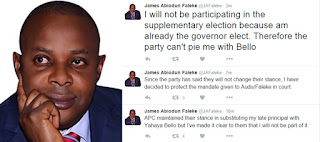 Faleke, Audu To Court
