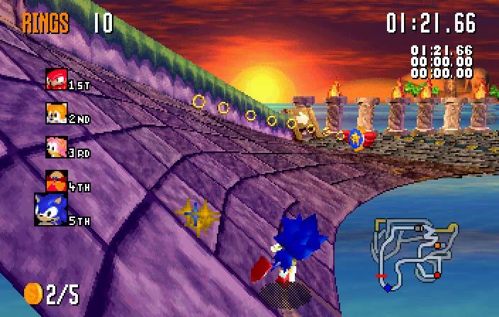 Sonic Melek Adası Oyunu Yeni