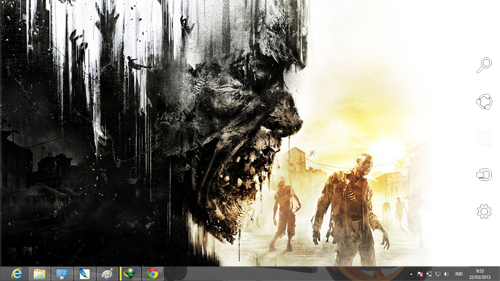 Dying Light Theme For Windows 7 And 8 8.1