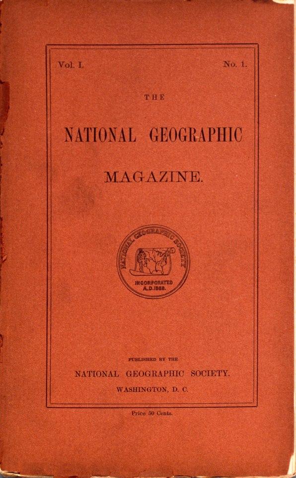 Το πρώτο εξώφυλλο του national geographic και