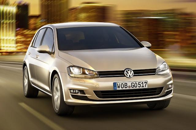 Novo Volkswagen Golf 2013 - faróis