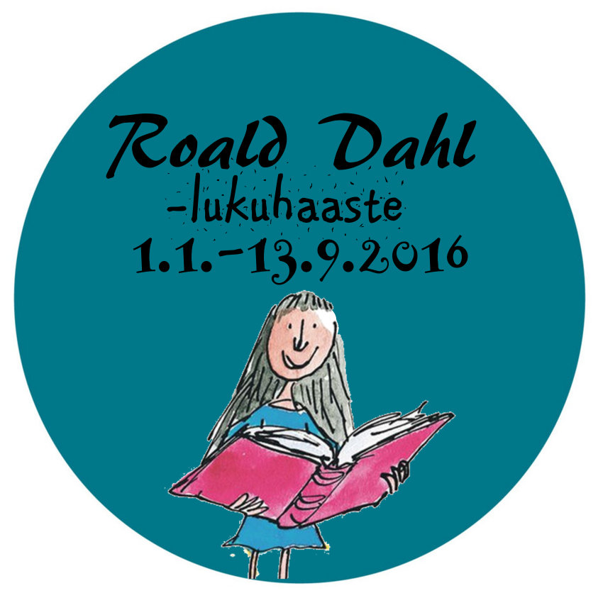 Roald Dahl -lukuhaaste 1.1.-13.9.2016