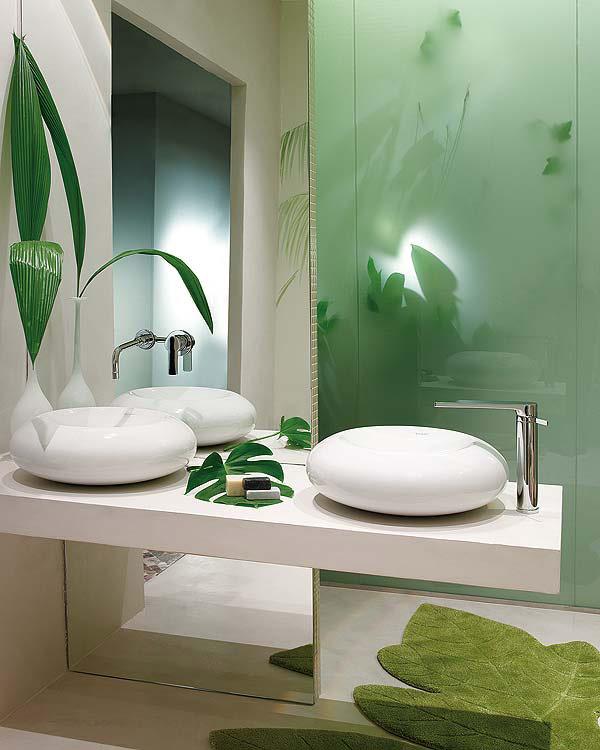 Decoracion De Baño Con Plantas: de interiores: Baño inspirado en la Naturaleza con Plantas