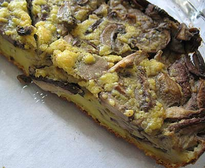 Mushroom Oven Pancake