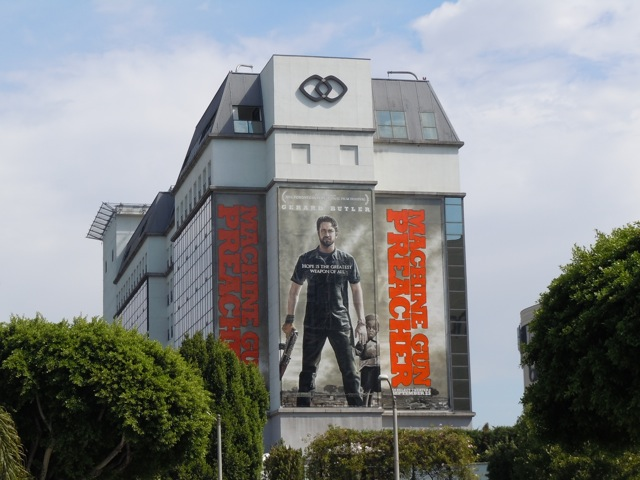 Machine Gun Preacher film billboard
