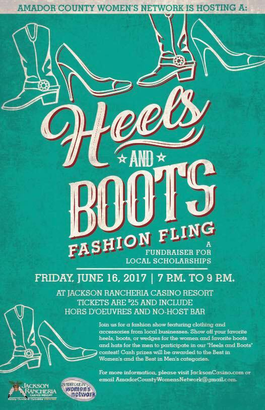 "ACWN's ""Heels & Boots"" Fashion Fling - Fri June 16"