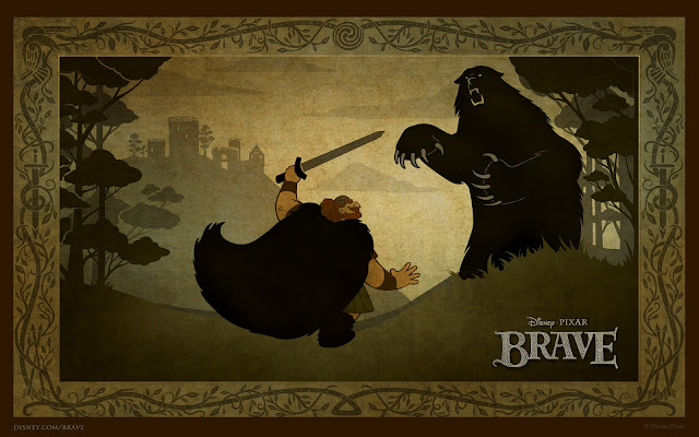 Bear Fight - Brave
