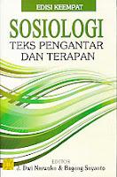 toko buku rahma: buku SOSIOLOGI TEKS PENGANTAR DAN TERAPAN, pengarang dwi narwoko, penerbit kencana