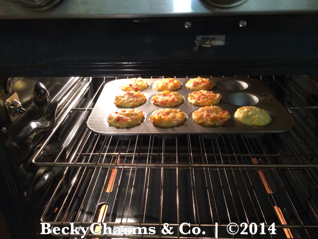 Egg and Rainbow Peppers Muffin Cupcakes by BeckyCharms