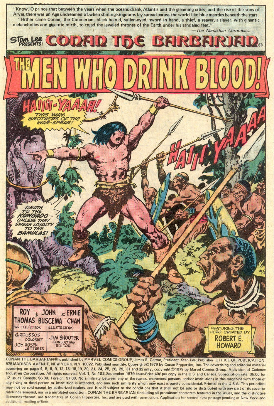 Conan the Barbarian (1970) Issue #102 #114 - English 2