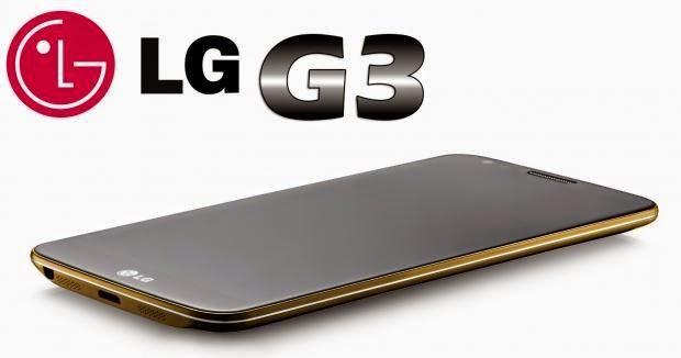 Smartphone LG G3 será lançado dia 27 de Maio em Londres