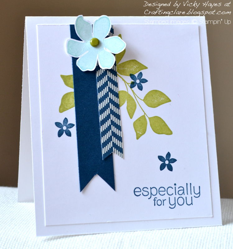 Card made with Summer Silhouettes from Stampin Up