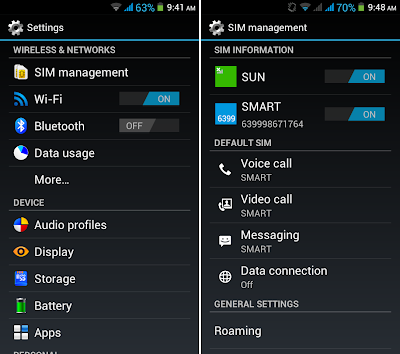 SKK Mobile Radiance SIM Management