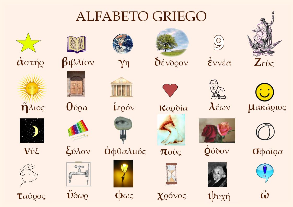 vocabulario griego antiguo: