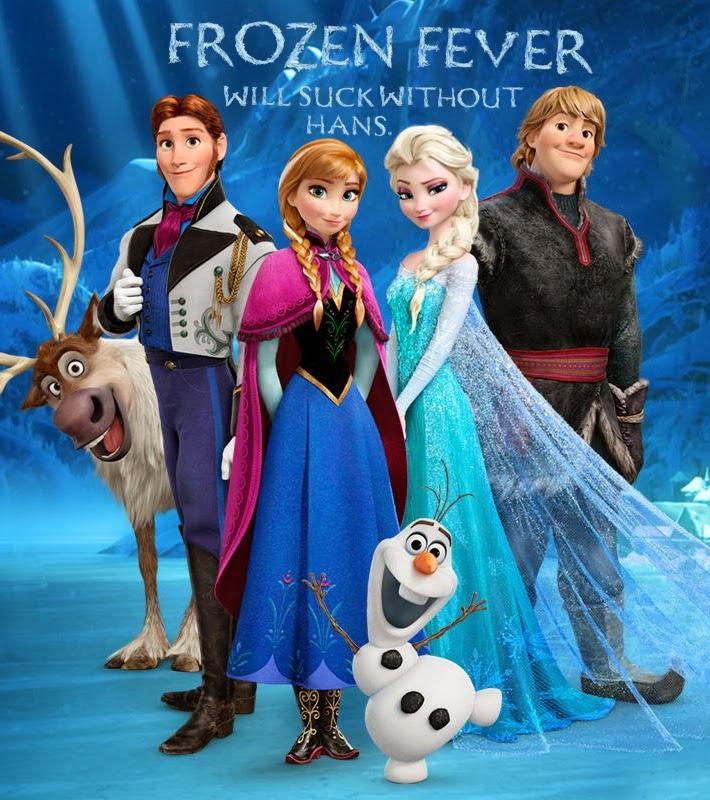 Frozen Fever 2015 glorydubbed cover دانلود دوبله فارسی گلوری تب خفته   Frozen Fever 2015