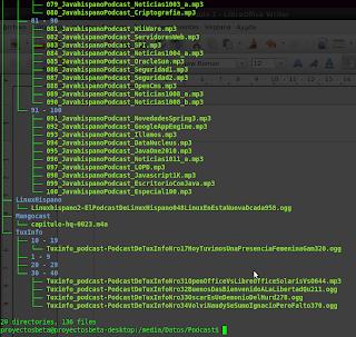 Imagen de listar directorios en forma de árbol en Ubuntu 10.04