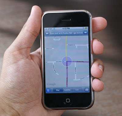 How to Use Google Maps App in iOS6 and iPhone 5