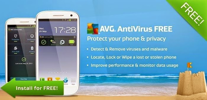 aplikasi antivirus AVG untuk android