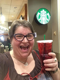 Starbucks, Passion Tea, Boston MA airport 2019