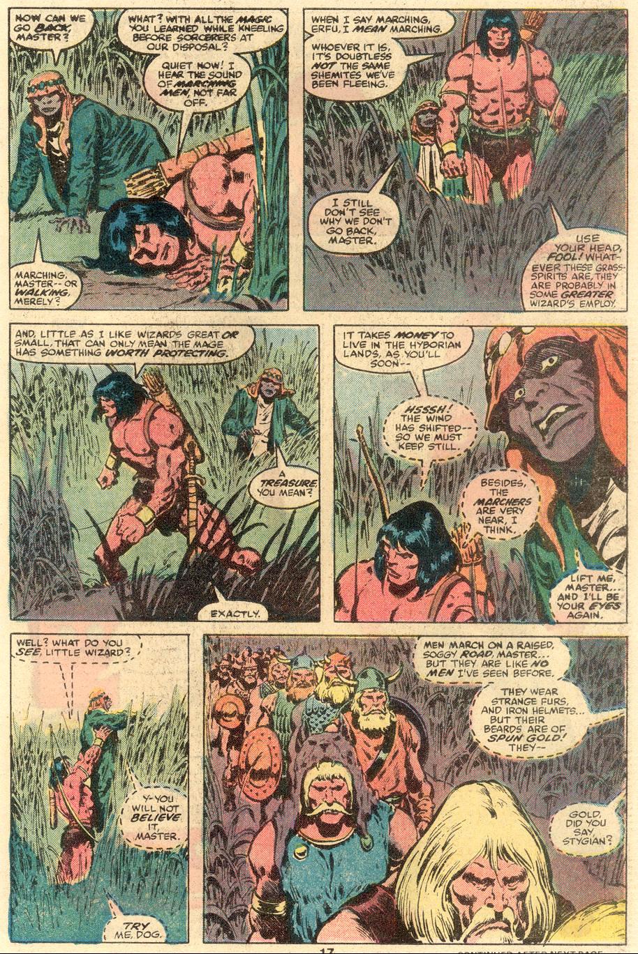 Conan the Barbarian (1970) Issue #109 #121 - English 12