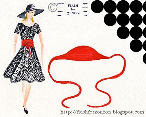 DIY Belt Idea for Summer Dress.