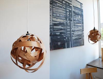 suspension en bois facile à fabriquer
