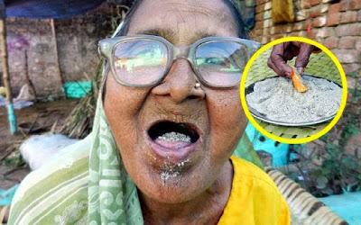 Wanita Berusia 92 Tahun Ini Makan 1Kg Pasir Sehari Untuk Kekal Sihat