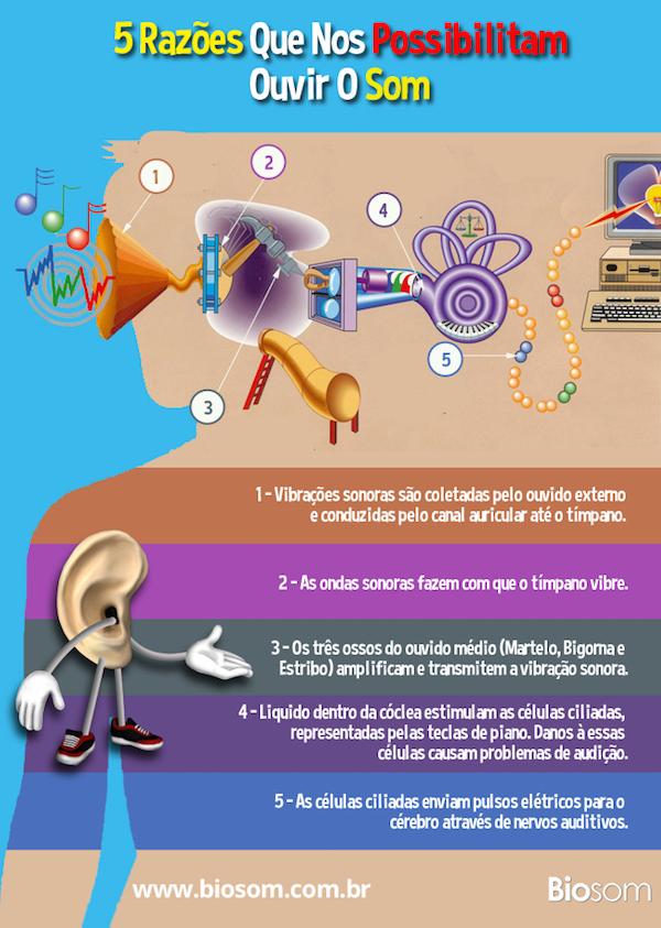 5 Razões que nos possibilitam ouvir o som