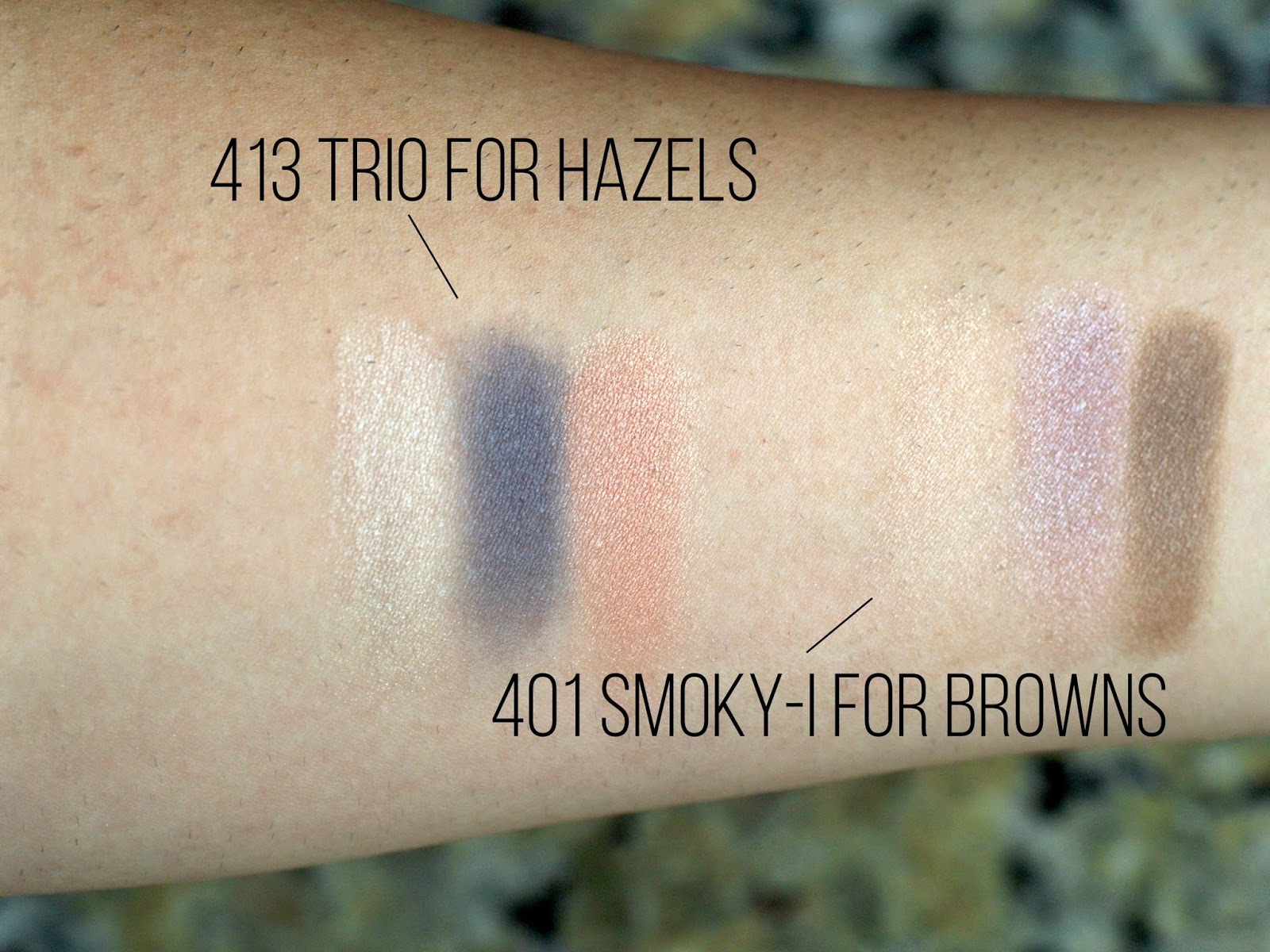 Almay Intense i-Color Powder Shadow Swatches