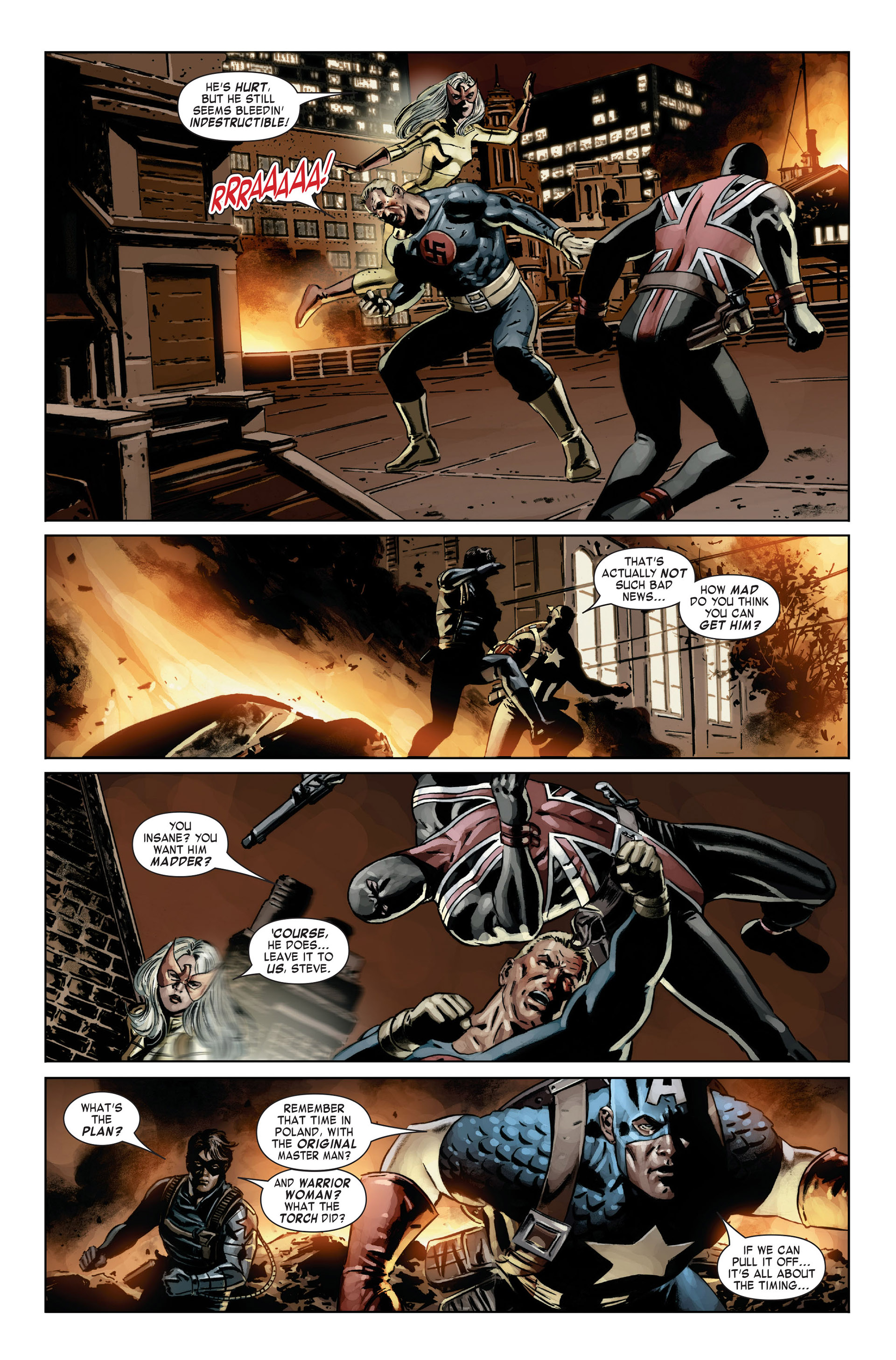 Captain America (2005) Issue #21 #21 - English 11
