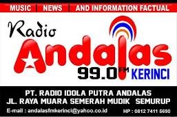 RADIO ANDALAS FM KERINCI - SUNGAI PENUH