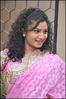 Vishnu Priya Latest Pictures in Saree at Prayaas Style Affair Launch  0044.jpg