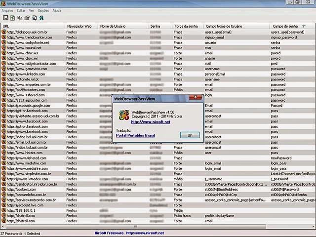 WebBrowserPassView v1.50 Portable