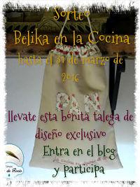 Belika en la cocina.