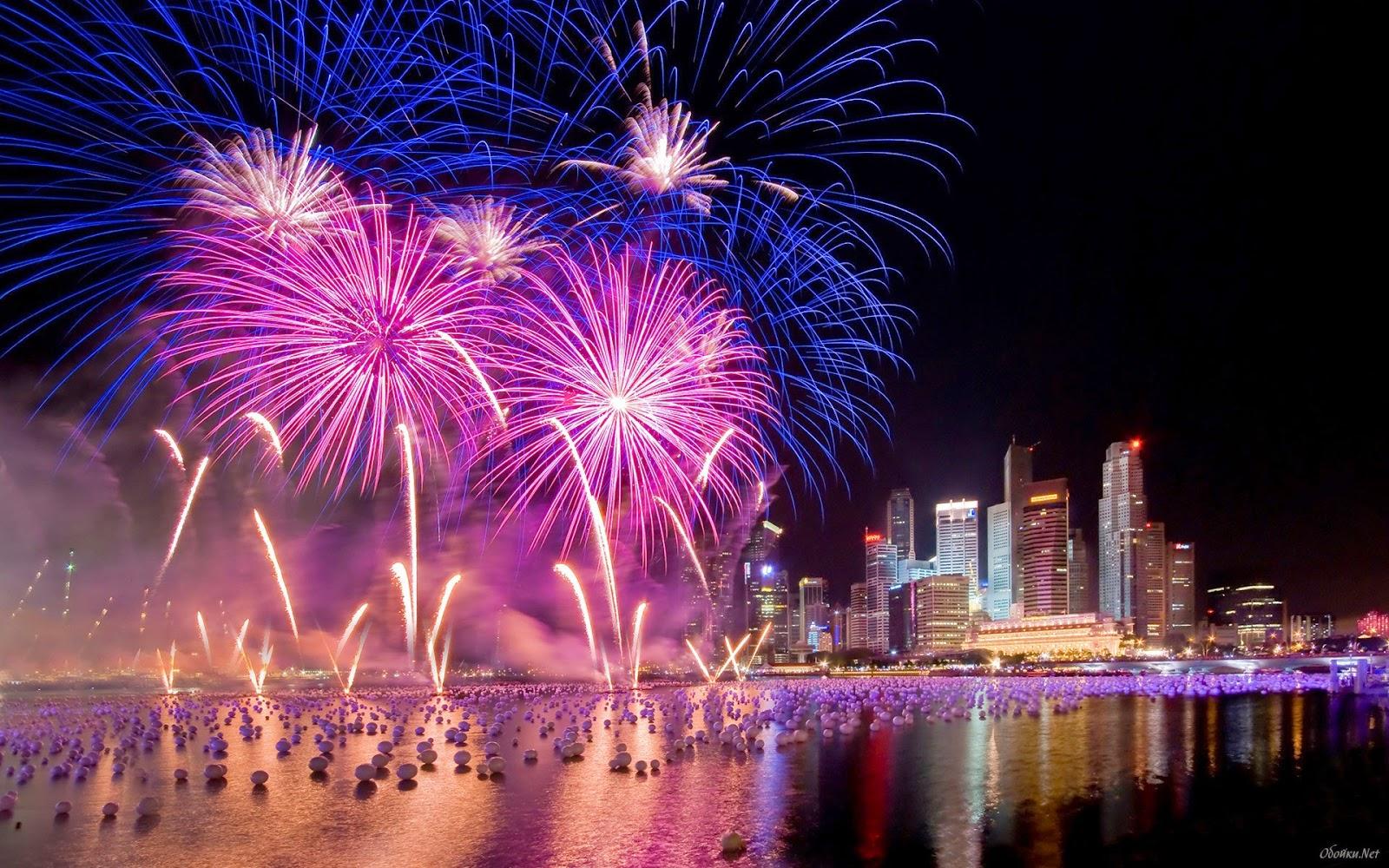 firework wallpaper hd