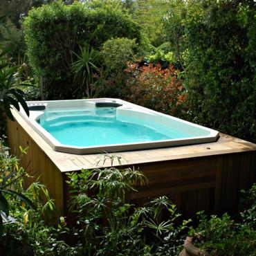 Modelos de piscinas peque as para bajos presupuestos y - Piscinas pequenas para jardin ...