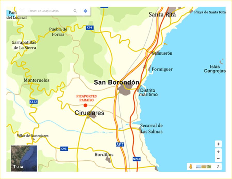 Provincia de San Borondón.