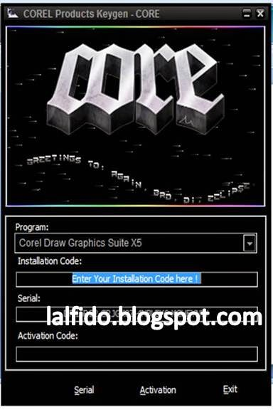 corel draw x5 crack serial keygen
