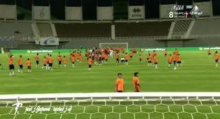 اكبر مباراة خيريه في العام فريق الوحده يواجهه 110 طفل من جمعية الاحسان الخيرية