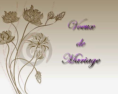voeux de mariage invitation mariage carte mariage texte mariage cadeau mariage. Black Bedroom Furniture Sets. Home Design Ideas