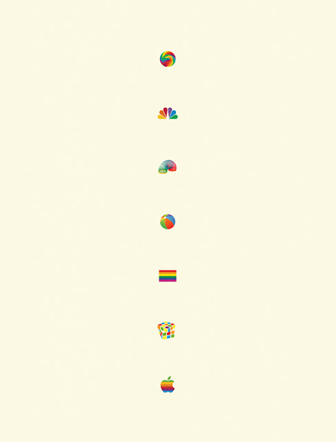 &quot;Famous Rainbows&quot; Print
