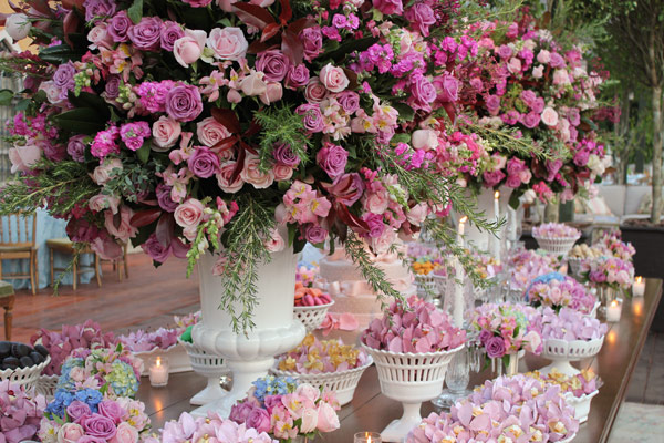 decoracao casamento rosa e dourado:Detalhes de Casamento: Tudo em tons ...