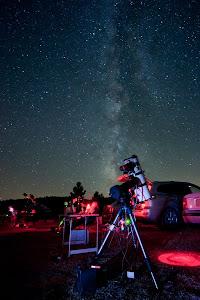 Equipo Astrofoto en accion